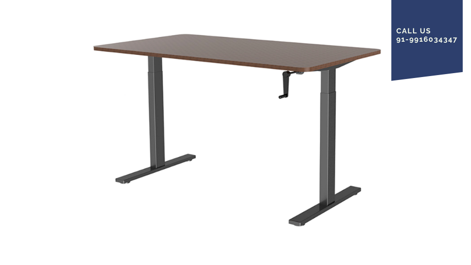 Height adjustable desk manual